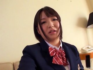 Inoue Maho Is A Nasty Schoolgirl In Need Of A Plowing Game