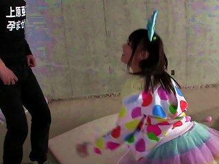 Cheerful Schoolgirl From Japan Wants To Have Her Twat Slammed