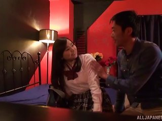 Asian Schoolgirl Gets Nasty With Her Pussy-famished Sex Partner