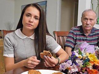 Petite 18yo Teen Sucking Oldmans Cock Hd Porn Ae Xhamster