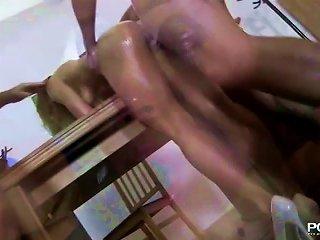 Anal Fisting Schoolgirl