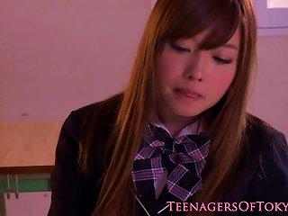 Nippon Teen Schoolgirl Creampied In Pussy