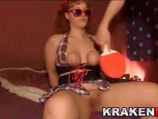 Krakenhot - Outdoor Bdsm In Public  To A Funny Schoolgirl