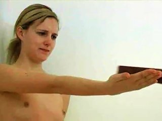 I Bet That Hurt. School Girl Get Her Palms Caned.wmv