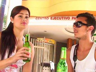 Cute Latina  Suck And Fuck Video